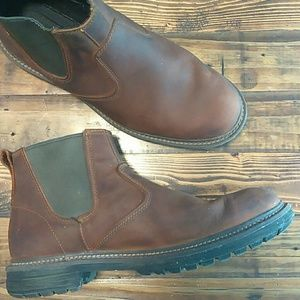 Timberland brown earthkeepers chelsea boots